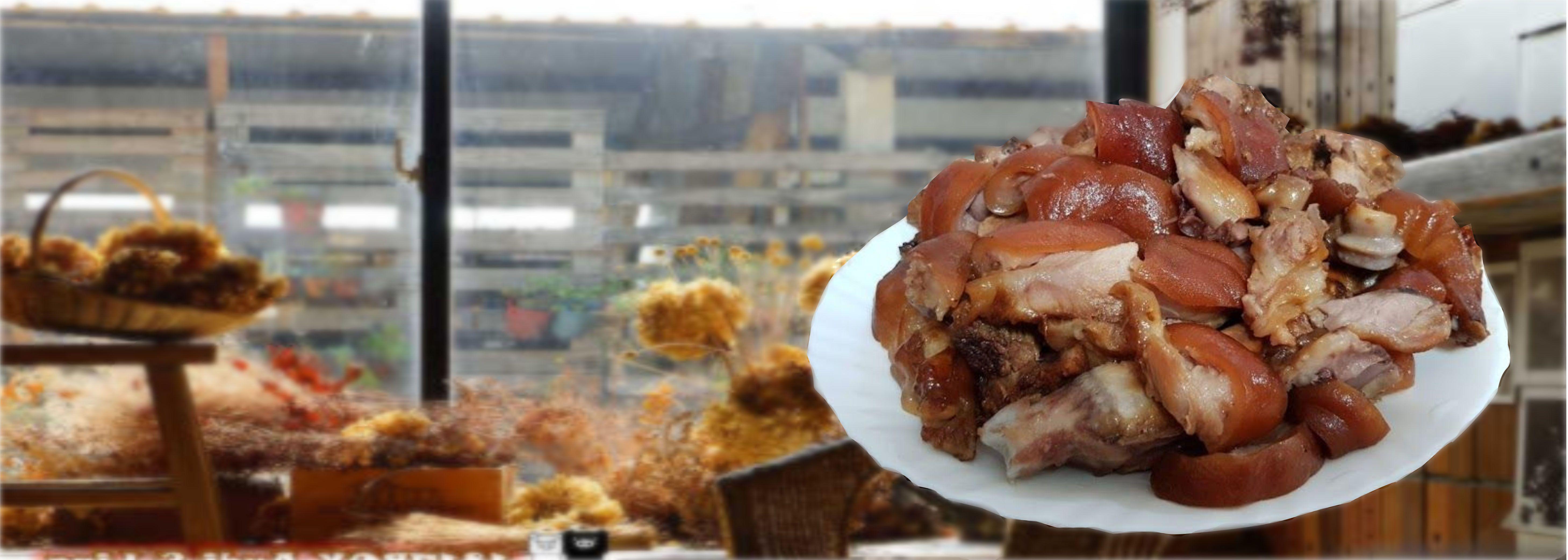 豬腳#香Q有嚼勁,市區訂購有專人送達哦。